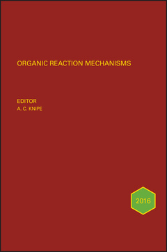 Cover of the book Organic Reaction Mechanisms 2016