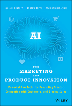Couverture de l'ouvrage AI for Marketing and Product Innovation