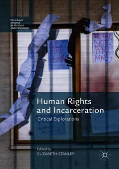 Couverture de l'ouvrage Human Rights and Incarceration