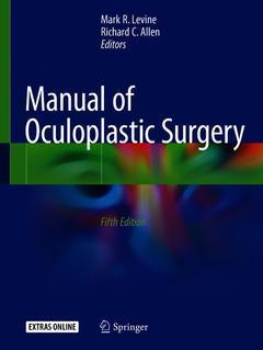 Couverture de l'ouvrage Manual of Oculoplastic Surgery
