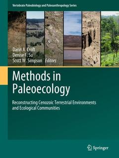 Cover of the book Methods in Paleoecology