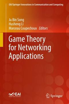 Cover of the book Game Theory for Networking Applications