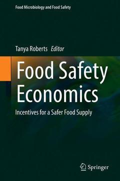 Couverture de l'ouvrage Food Safety Economics