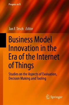 Couverture de l'ouvrage Business Model Innovation in the Era of the Internet of Things