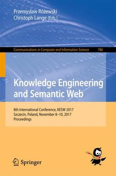 Couverture de l'ouvrage Knowledge Engineering and Semantic Web