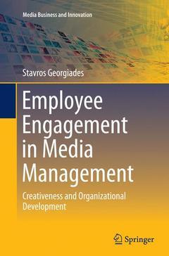 Couverture de l'ouvrage Employee Engagement in Media Management