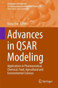 Couverture de l'ouvrage Advances in QSAR Modeling