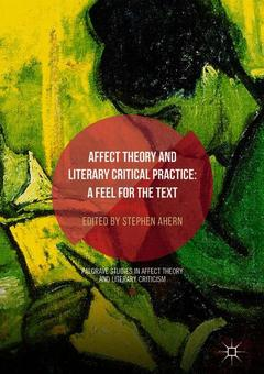 Cover of the book Affect Theory and Literary Critical Practice