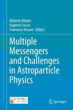 Cover of the book Multiple Messengers and Challenges in Astroparticle Physics