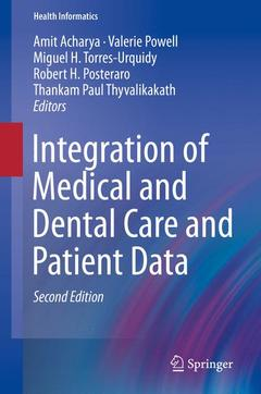 Cover of the book Integration of Medical and Dental Care and Patient Data