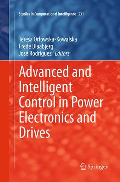 Couverture de l'ouvrage Advanced and Intelligent Control in Power Electronics and Drives