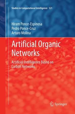 Couverture de l'ouvrage Artificial Organic Networks