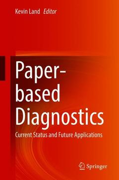 Cover of the book Paper-based Diagnostics