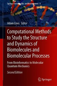 Cover of the book Computational Methods to Study the Structure and Dynamics of Biomolecules and Biomolecular Processes