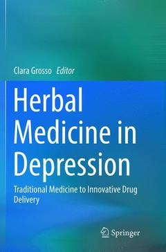Cover of the book Herbal Medicine in Depression