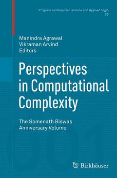 Couverture de l'ouvrage Perspective in Computational Complexity