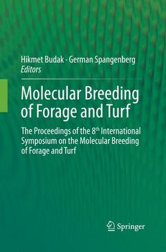 Cover of the book Molecular Breeding of Forage and Turf