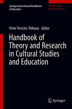 Cover of the book Handbook of Theory and Research in Cultural Studies and Education