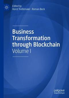 Cover of the book Business Transformation through Blockchain