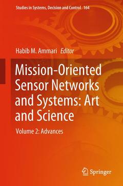 Couverture de l'ouvrage Mission-Oriented Sensor Networks and Systems: Art and Science