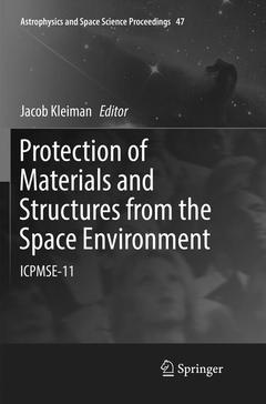 Cover of the book Protection of Materials and Structures from the Space Environment