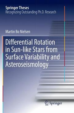 Couverture de l'ouvrage Differential Rotation in Sun-like Stars from Surface Variability and Asteroseismology
