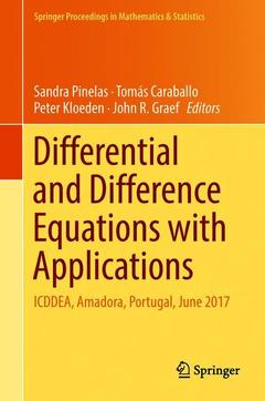 Couverture de l'ouvrage Differential and Difference Equations with Applications