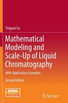 Cover of the book Mathematical Modeling and Scale-Up of Liquid Chromatography