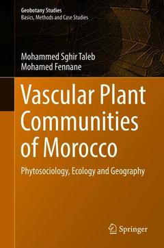 Cover of the book Vascular Plant Communities of Morocco