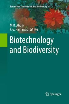 Couverture de l'ouvrage Biotechnology and Biodiversity