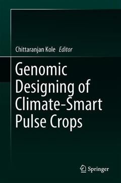 Cover of the book Genomic Designing of Climate-Smart Pulse Crops