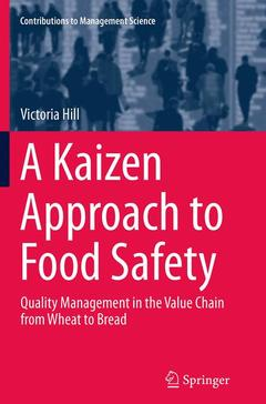 Couverture de l'ouvrage A Kaizen Approach to Food Safety