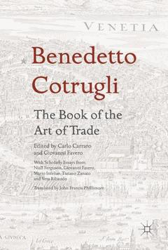 Cover of the book Benedetto Cotrugli - The Book of the Art of Trade