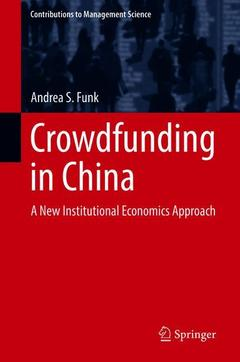 Cover of the book Crowdfunding in China