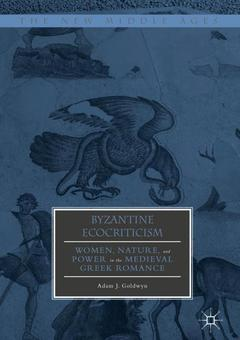 Cover of the book Byzantine Ecocriticism