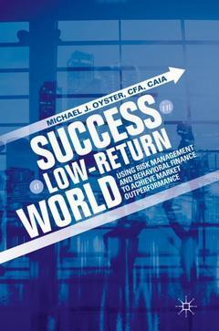 Couverture de l'ouvrage Success in a Low-Return World