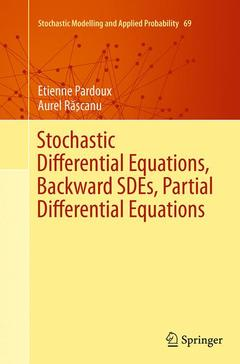 Cover of the book Stochastic Differential Equations, Backward SDEs, Partial Differential Equations