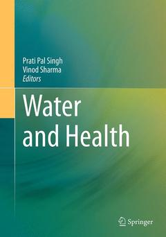 Couverture de l'ouvrage Water and Health