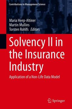 Couverture de l'ouvrage Solvency II in the Insurance Industry