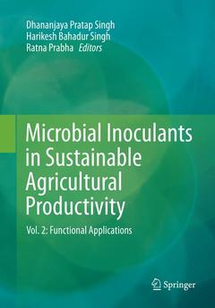 Cover of the book Microbial Inoculants in Sustainable Agricultural Productivity