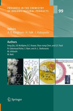 Couverture de l'ouvrage Progress in the Chemistry of Organic Natural Products
