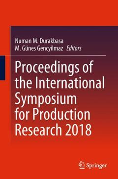 Couverture de l'ouvrage Proceedings of the International Symposium for Production Research 2018