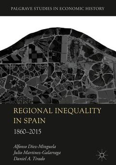 Couverture de l'ouvrage Regional Inequality in Spain