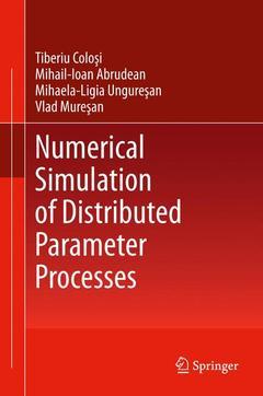 Couverture de l'ouvrage Numerical Simulation of Distributed Parameter Processes