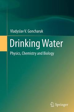 Couverture de l'ouvrage Drinking Water