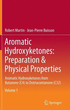 Couverture de l'ouvrage Aromatic Hydroxyketones: Preparation & Physical Properties