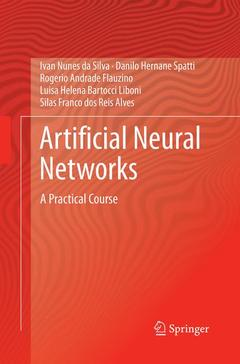 Couverture de l'ouvrage Artificial Neural Networks