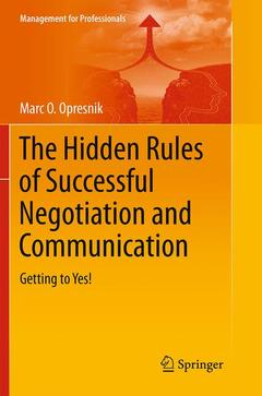 Cover of the book The Hidden Rules of Successful Negotiation and Communication
