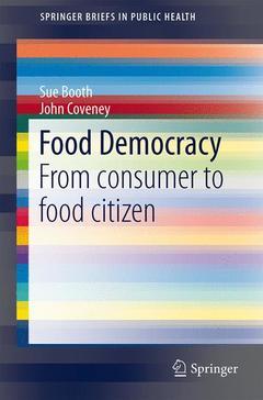 Couverture de l'ouvrage Food Democracy