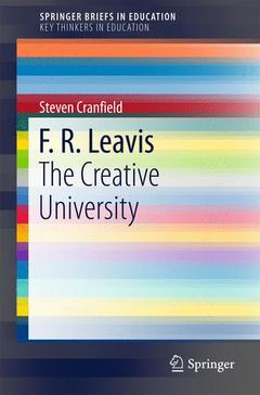 Cover of the book F. R. Leavis